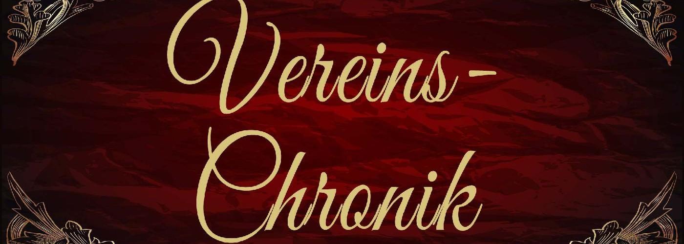 Foto zum Beitrag: Die CHRONIK unseres Vereins wurde jetzt auf den neuesten Stand gebracht !