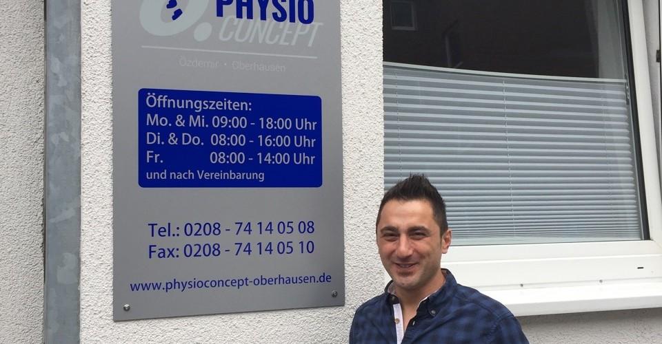 Foto zum Beitrag: Eröffnung Physioconcept Oberhausen Özdemir