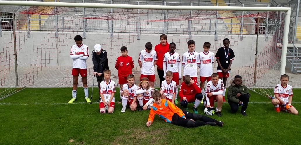 Foto zum Beitrag: D- Junioren werden Vize- Stadtmeister 2018