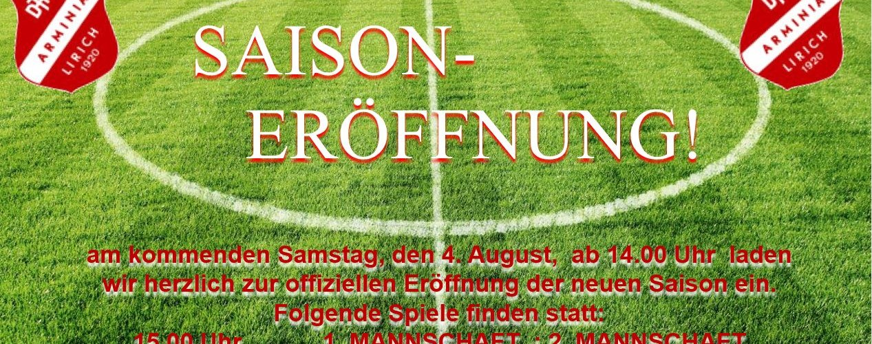 Foto zum Beitrag: Offizielle SAISONERÖFFNUNG für unsere 1. und 2. und 3. Mannschaft