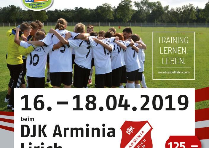 Foto zum Beitrag: Fußballcamp bei Arminia Lirich