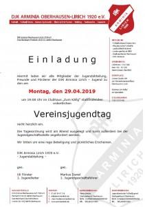 Vereinsjugendtag 2019