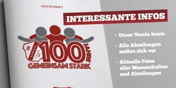 Produktfoto von Jubiläums-Festschrift zum 100 jährigen