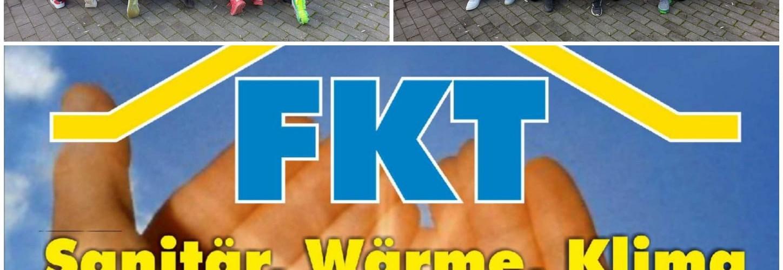 """Foto zum Beitrag: """"Die D1 Jugend bedankt sich bei der Firma FKT…."""