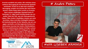 DJK Arminia Lirich - Andre Peters