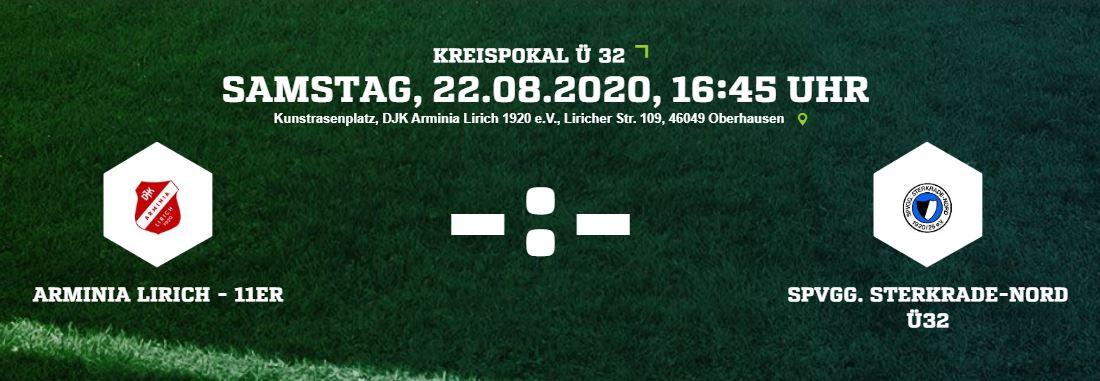 Foto zum Beitrag: Ü32 Kreispokal Halbfinale…