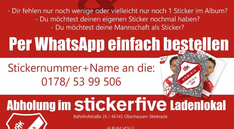 Foto zum Beitrag: Hallo Stickerfans…